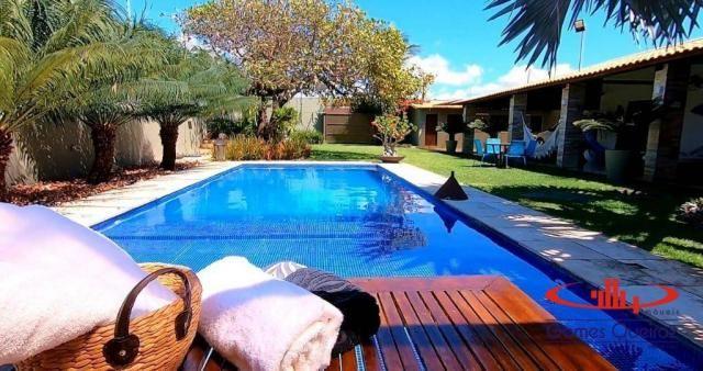 Casa com 5 dormitórios à venda, 350 m² por R$ 1.200.000 - Porto das Dunas - Aquiraz/CE - Foto 9