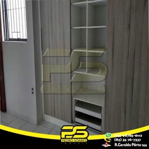 Apartamento com 3 dormitórios para alugar, 80 m² por R$ 1.100,00/mês - Jardim Cidade Unive - Foto 3