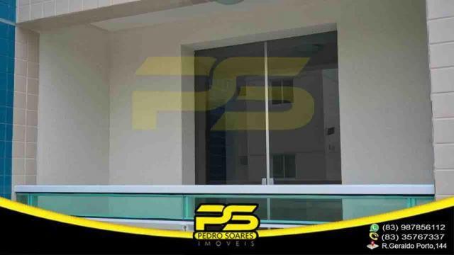 Apartamento novo, 02 quartos, piscina, churrasqueira, espaço gourmet, playground, 45,80m²  - Foto 7