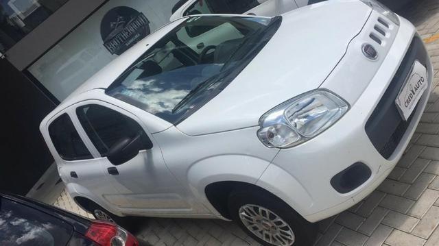 Fiat uno Vivace 1.0 Branco flex 2016 - Foto 2