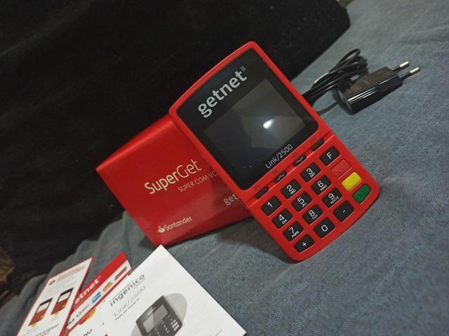 Máquina de cartão Getnet - Foto 5