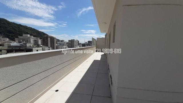 Cobertura linear em Botafogo, no You, Real Grandeza, 156m, 3 quartos, vista Cristo - Foto 5