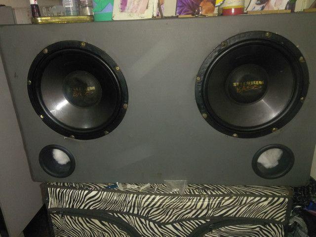 Caixa de som alto motiva muito nova - Foto 4