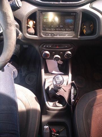 Chevrolet Onix 1.0 LT 8V Com My Link 14-14 Preto - Foto 3