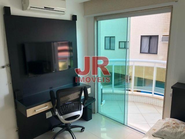 Excelente apartamento de alto padrão 4 suítes, decorado e mobiliado. Passagem-Cabo Frio-RJ - Foto 20