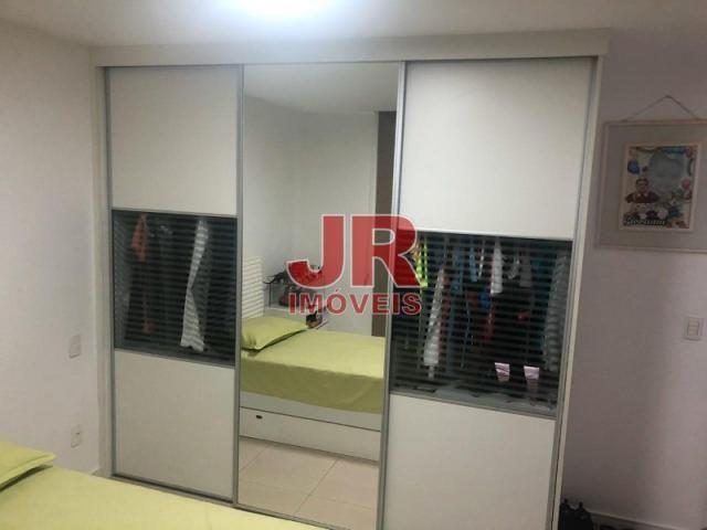 Excelente apartamento de alto padrão 4 suítes, decorado e mobiliado. Passagem-Cabo Frio-RJ - Foto 18