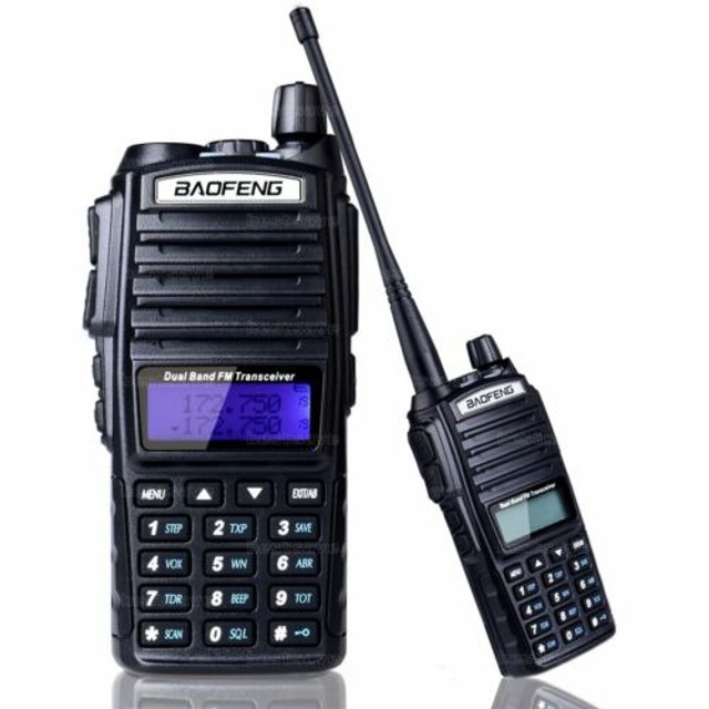 Rádio Comunicador Baofeng Uv-82 Dual Band Rádio Fm Com Fone - Foto 3