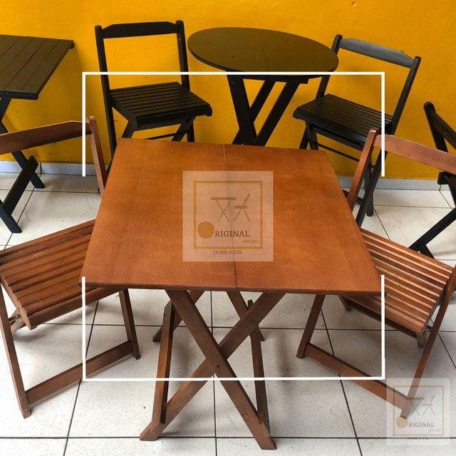 Mesas e cadeiras dobráveis direto de fábrica apartir de 239,00 - Foto 3