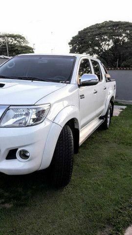 Vende-se Hilux 2012 SRV com todos opcionais e pouco rodada  - Foto 5