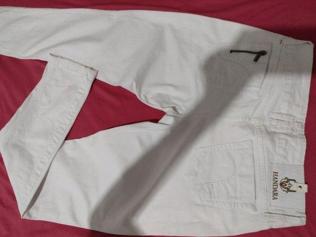 Calça jeans da handara, tam.42, cintura normal. Some nova - Foto 3