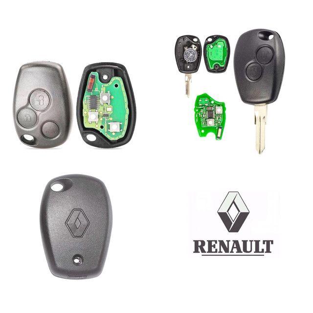 Chave Codificada Renault  - Foto 2