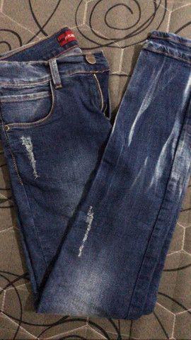 Calça jeans infantil ex-planet  - Foto 2