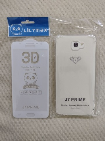 Película de vidro 3D para celular e capa - Foto 2