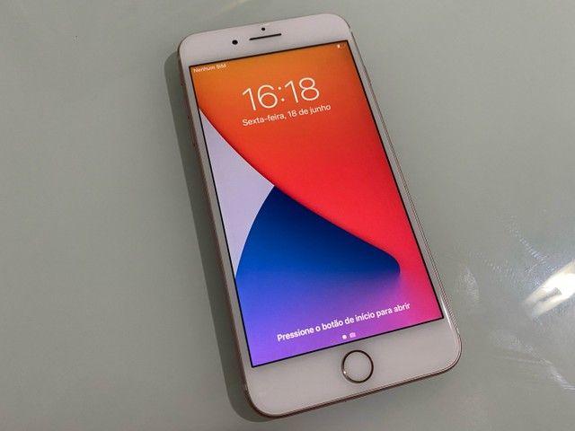 12x Sem Juros! iPhone 7 Plus 256GB Rose estado de novo, sem marcas  - Foto 2