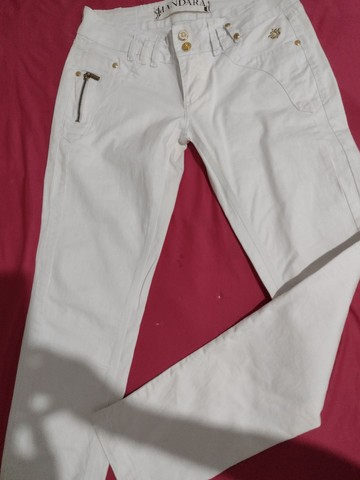 Calça jeans da handara, tam.42, cintura normal. Some nova