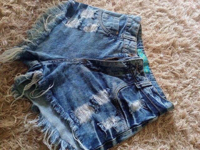 vendo short jeans 36 - Foto 2