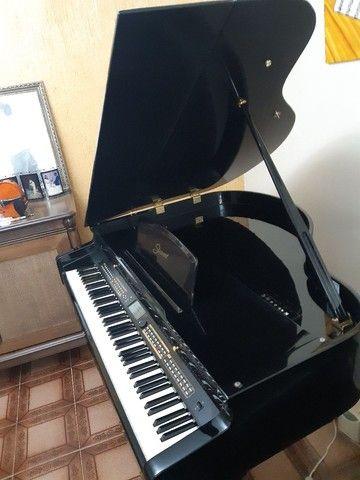 Piano 1/4 de calda ,eletrônico valor 22.500 - Foto 2