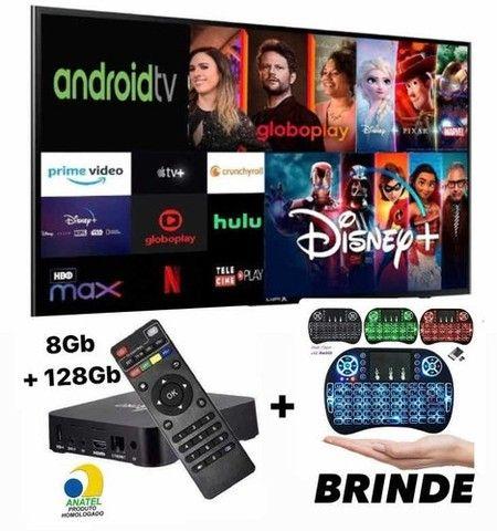 Aparelho Para Transformar Tv Em Smart 8 Ram + 128gb 5g - 4k - Foto 6