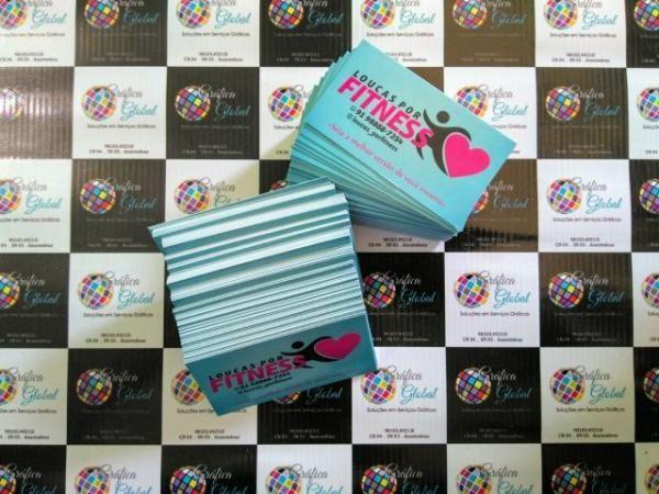 Promoção de cartão de visita - 1.000 unidades R 49,00