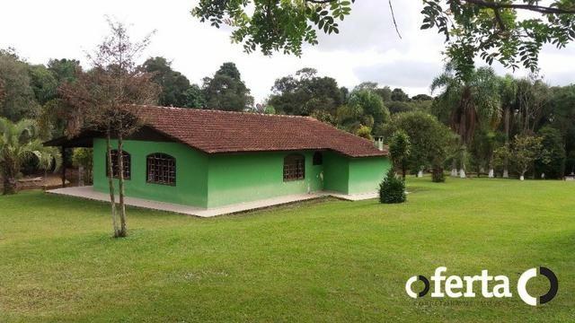 Chácara em Araucária com piscina e amplo Salão - Foto 7