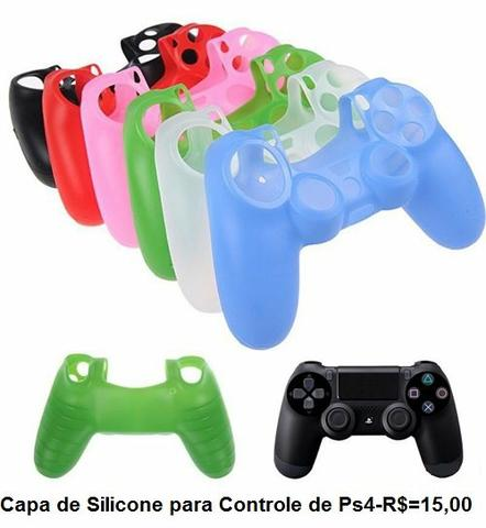 Capa de Silicone do Controle de Play 4 - Videogames - Centro ... 10c25747c0