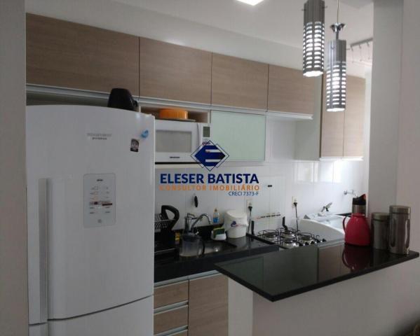 Apartamento à venda com 2 dormitórios em Colina de laranjeiras, Serra cod:AP00067 - Foto 3
