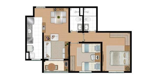 Apartamentos com 2 ou 3 dorms, suite e lazer completo em Diadema - Foto 16