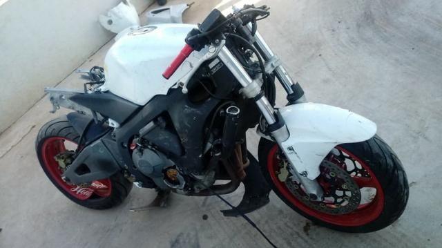 Moto Para Retirada De Peças / Sucata Honda CBR 600 Ano 2003 Sucata - Foto 4