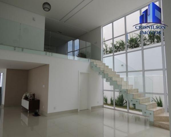 Casa à venda alphaville salvador ii, nova, r$ 2.400.000,00, piscina, espaço gourmet! - Foto 3