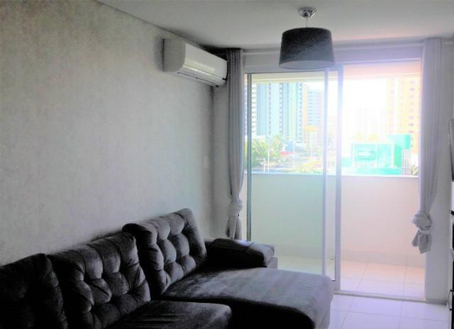 Apartamento Sala/Quarto Mobiliado, Locação na Ponta D'Areia, 2 Vagas Garagem - Foto 2