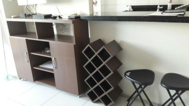 Apartamento Sala/Quarto Mobiliado, Locação na Ponta D'Areia, 2 Vagas Garagem - Foto 3