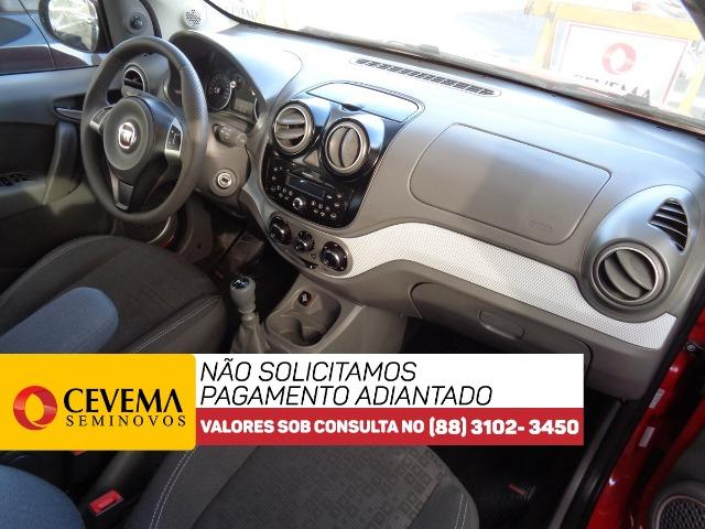 Fiat Palio Attractive 1.4 - Vermelho - Foto 9