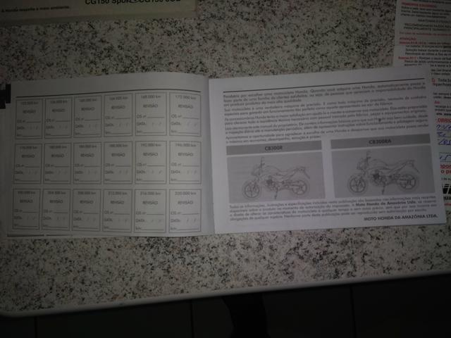 Manual da cb 300