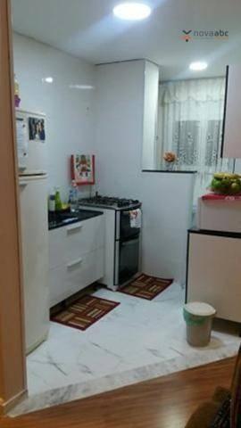 Apartamento para alugar, 47 m² por R$ 1.200,00/mês - Vila João Ramalho - Santo André/SP - Foto 3