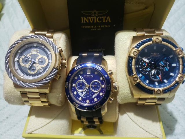 Coleção relógios INVICTA Originais - Foto 2