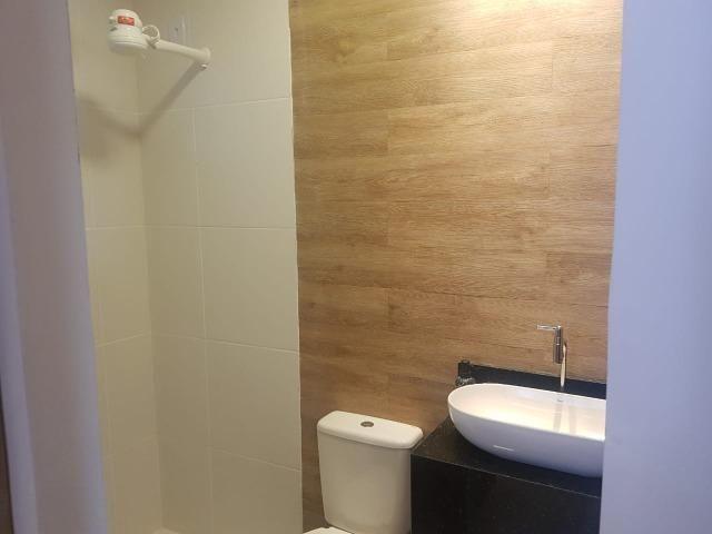 Ap de 2 quartos com suite reversível e quintal, Mario Covas- Vista do Bosque - Foto 6