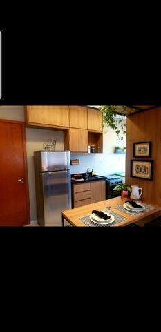Ap de 2 quartos com suite reversível e quintal, Mario Covas- Vista do Bosque