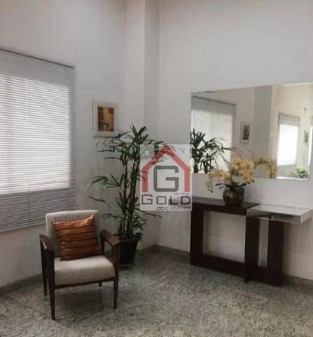 Apartamento para alugar, 195 m² por R$ 3.420,00/mês - Santa Paula - São Caetano do Sul/SP - Foto 3