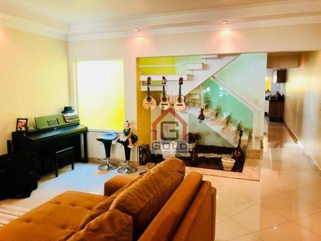 Sobrado com 3 dormitórios à venda, 195 m² por R$ 850.000 - Parque das Nações - Santo André