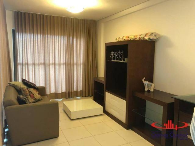 Apartamento com 3 dormitórios à venda, 136 m² por R$ 650.000,00 - Porto das Dunas - Aquira - Foto 2