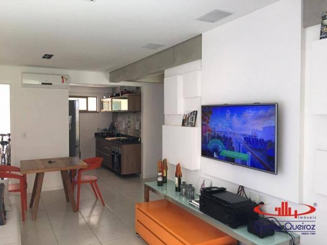 Apartamento com 2 dormitórios à venda, 68 m² por R$ 450.000,00 - Porto das Dunas - Aquiraz - Foto 7