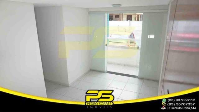 Apartamento novo, 02 quartos, piscina, churrasqueira, espaço gourmet, playground, 45,80m²  - Foto 3