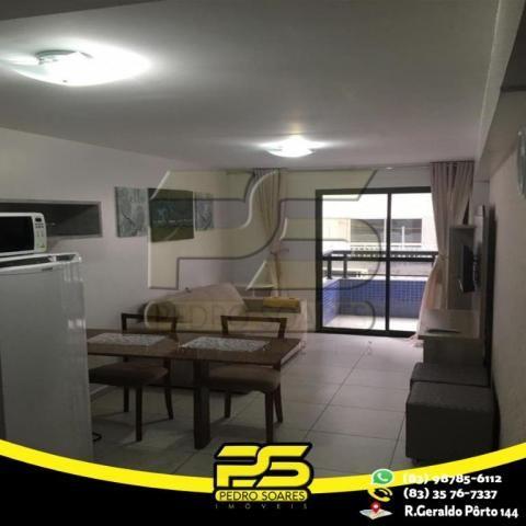 Flat com 1 dormitório para alugar, 1 m² por R$ 2.200,00/mês - Tambaú - João Pessoa/PB - Foto 14