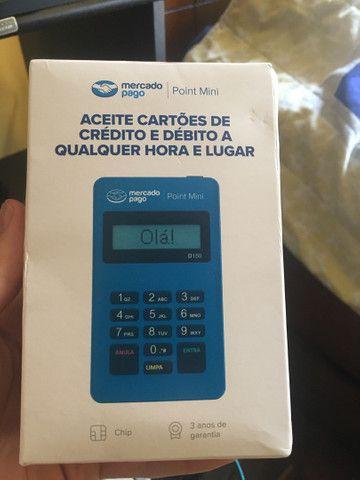 Máquina de cartão de crédito (nova) lacrado do mercado pago