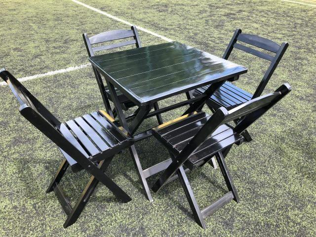 Mesas e cadeiras dobráveis para seu estabelecimento - Foto 5