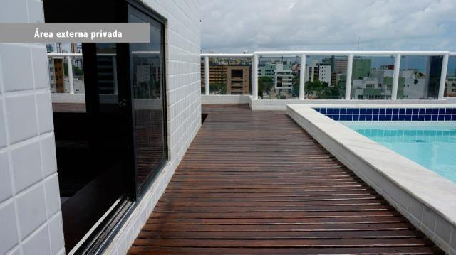 Cobertura 400m2 Duplex no Cabo Branco - João Pessoa - Foto 18