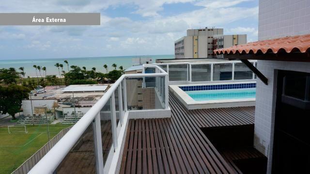 Cobertura 400m2 Duplex no Cabo Branco - João Pessoa - Foto 17
