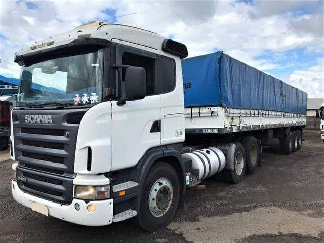 Conjunto Scania G-420 + carreta Ls Randon