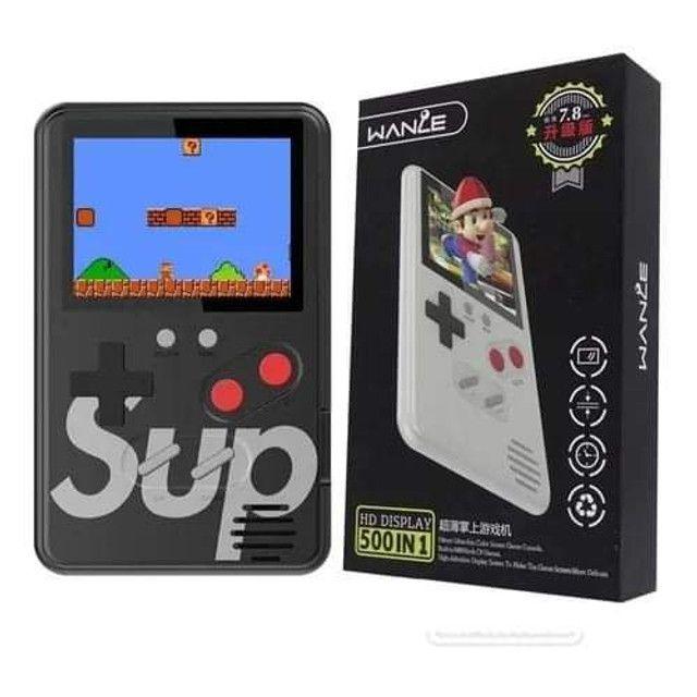 Mini Video Game Retro Portatil Sup 400