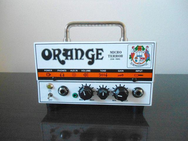 Cabeçote pre valvulado Orange Micro Terror  - Foto 2